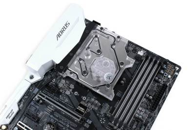 Gigabyte Z270X Motherboards Get New RGB Monoblock Option from EKWB