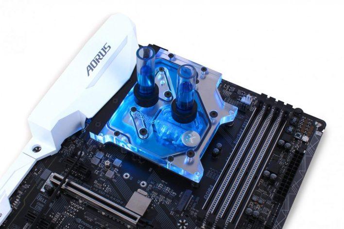 Gigabyte Z270X Motherboards Get New RGB Monoblock Option from EKWB