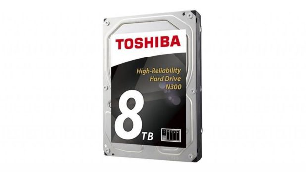 Toshiba Increases N300 NAS HDD Capacity to 8TB