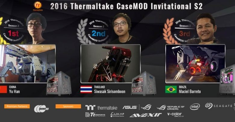 2016 Thermaltake CaseMOD Invitational Season 2 Winners Announced