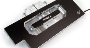 The Komodo™ NV-LE GTX TITAN X full cover waterblock