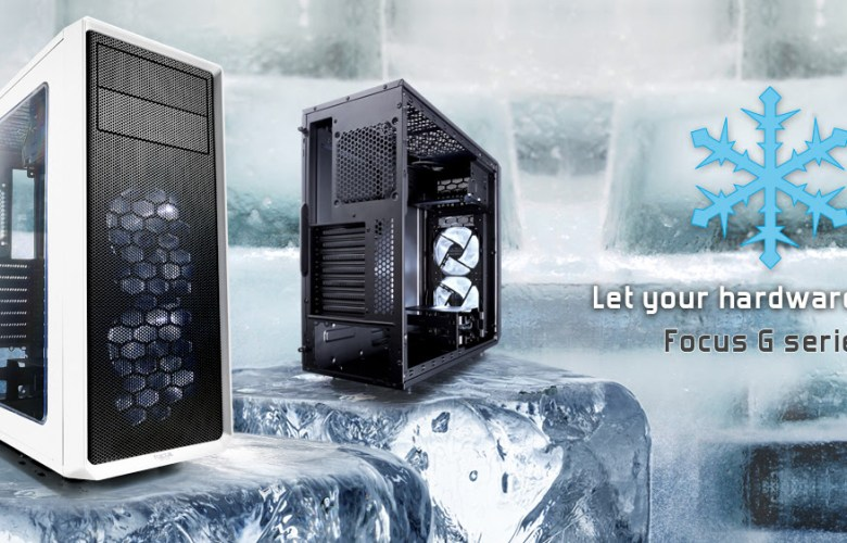 Fractal G Series Computer Case White and Black