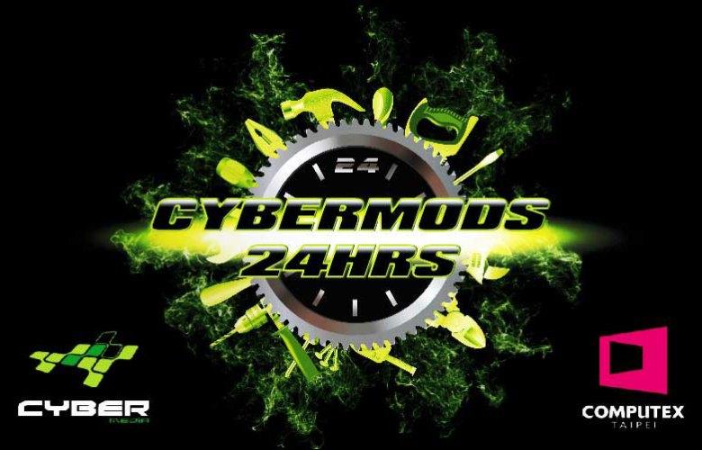 CyberMods 24Hrs Live Modding Event at Computex