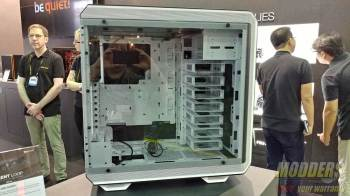 "Be Quiet! Showcases ""Light Base"" 900 Case and More @ Computex 2017"