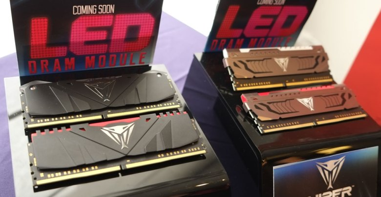 Patriot Teases DRAM LED, Gaming Peripherals and More @ Computex 2017