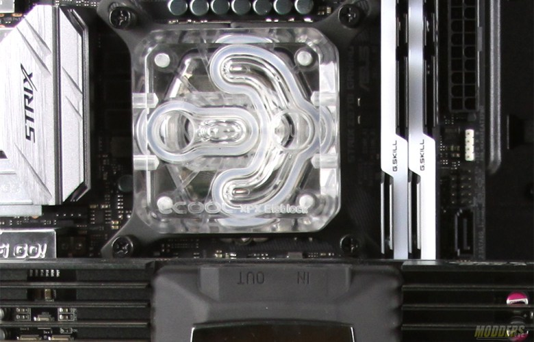 Alphacool CPU water block