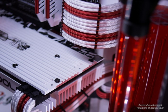 Alphacool AlphaCord Sleeves and Eiskamm Alu Cable Combs Now Available