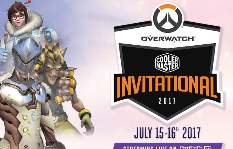 Cooler Master Hosts Overwatch Invitational on July 15 to 16