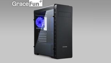 Enermax GraceFun Black with blue fan