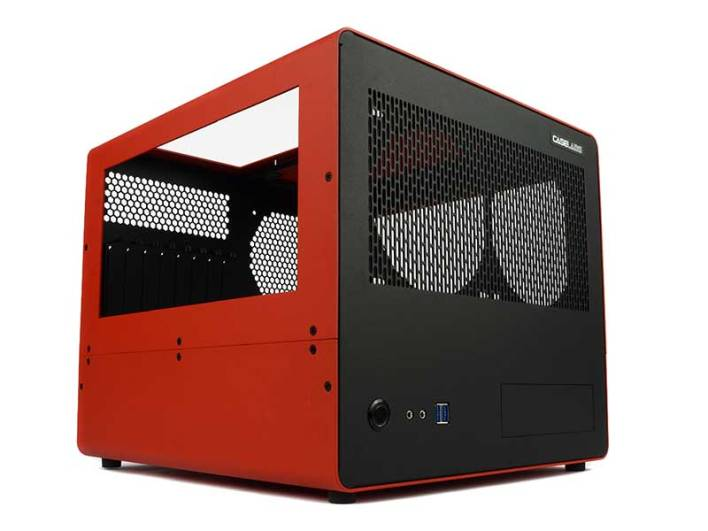 caselabs bullet BH8 red