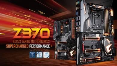 Gigabyte Announces Z370 Motherboard Line
