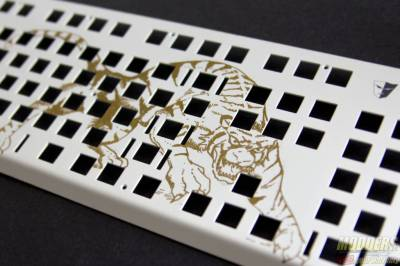 Tesoro Gram White Plate Art