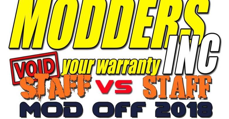 Modders Inc Mod Off 2018