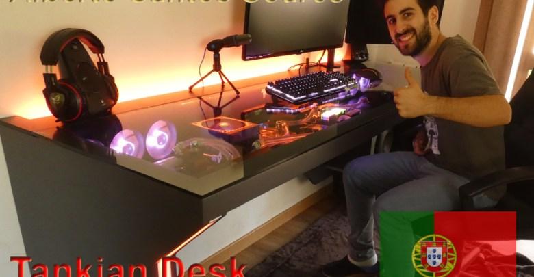 "Photo of Modders Spotlight: Alberto Santos Soares ""Tankian the Man"" & TankianDesk"