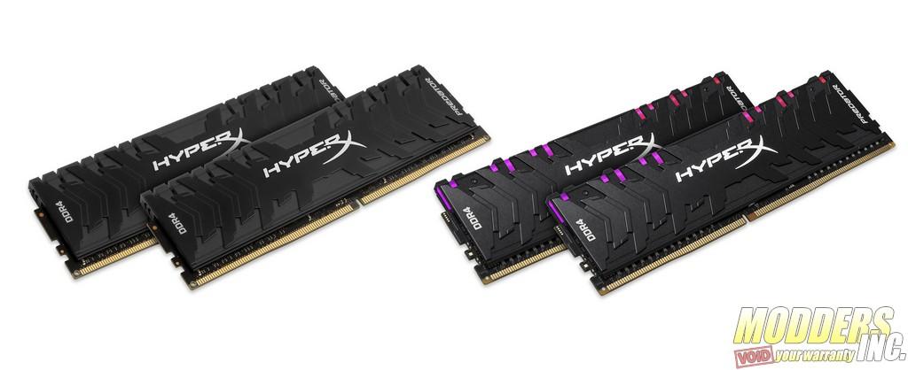 HyperX Launches New Predator DDR4 RGB and Predator DDR4 DRAM