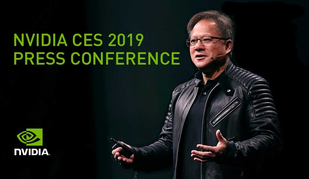 nvidia 2019 ces press conference