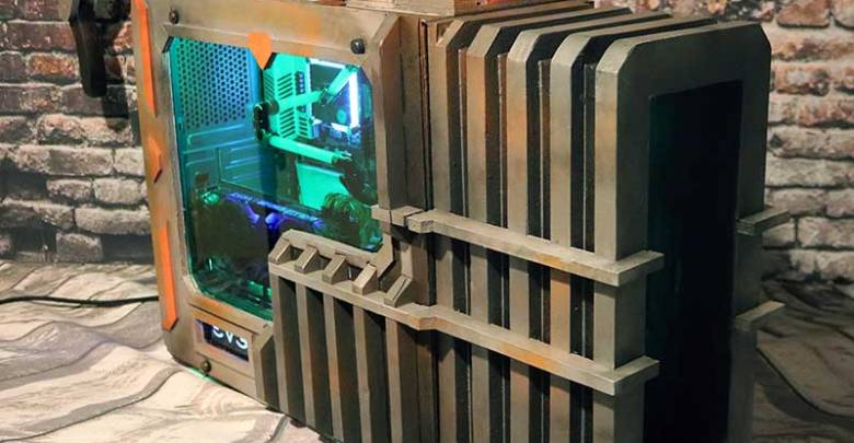 Photo of DOOM BFG Case Mod
