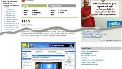 Photo of Top 100 Web Sites by PC Mag