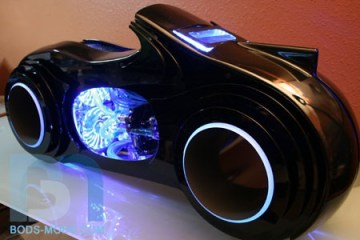 TRON Light Cycle Case Mod