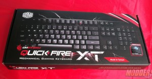 CM Storm QuickFire XT Mechanical Keyboard