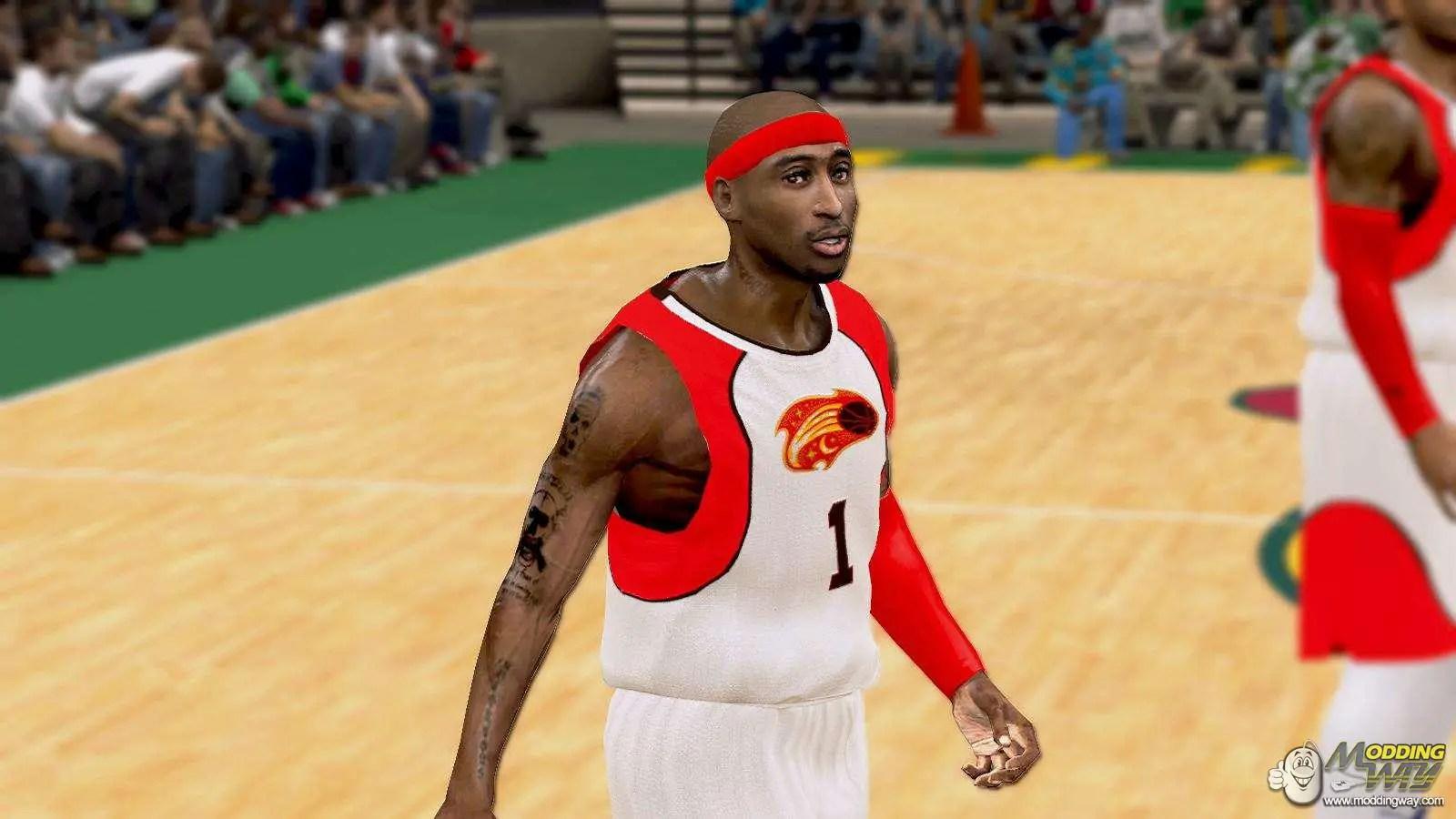 Tupac Cyber Face NBA 2K11