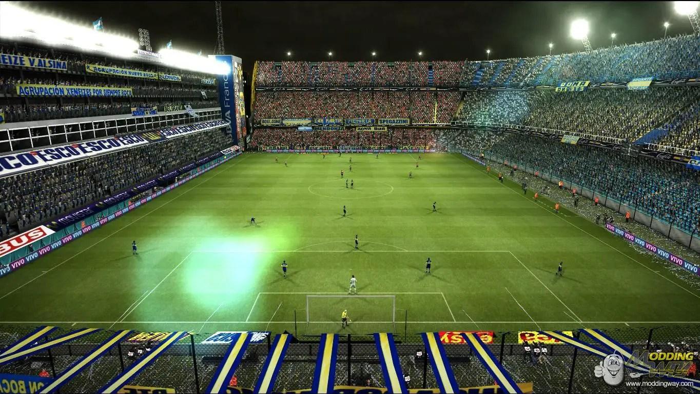 LA Bombonera BY Gide Pro Evolution Soccer 2012