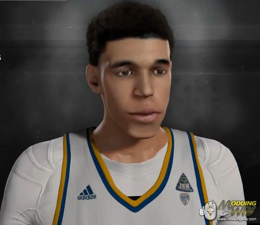 Lonzo Ball Cyber Face NBA 2K17