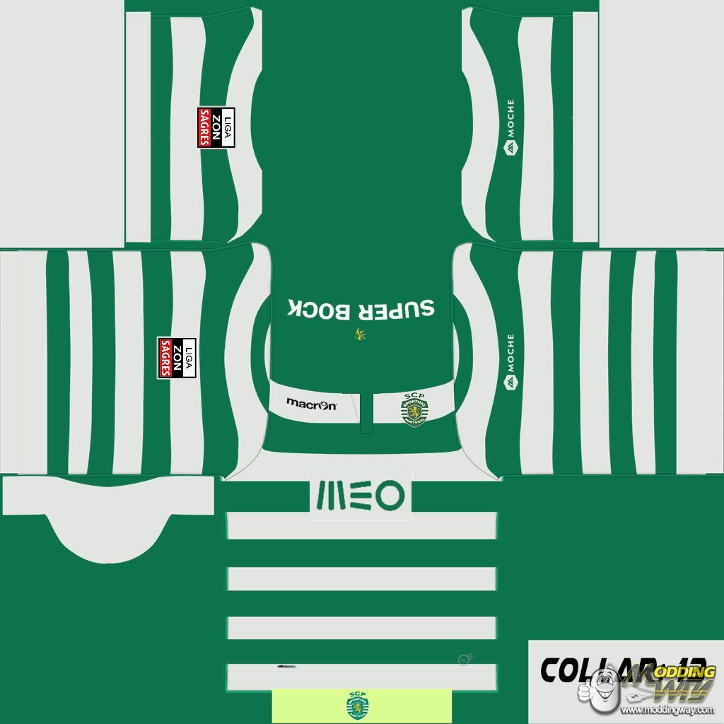 Sporting CP Home Kit 201415 FIFA 14