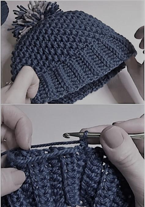 bonnet par crochet