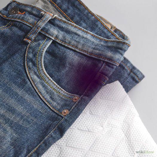 enlever encre jean