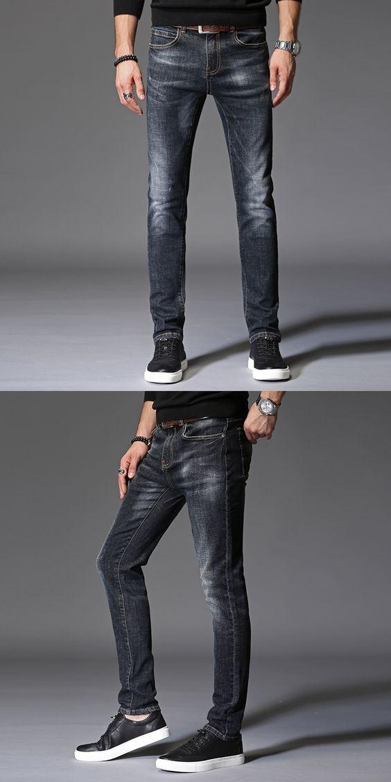 men jeans straight