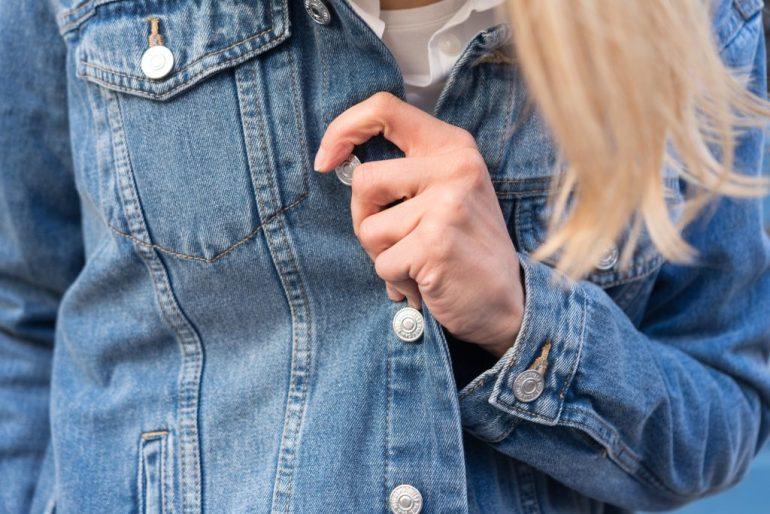 porter veste en jean