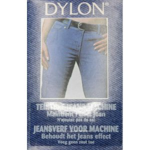 stoffenverf voor machine - naturel denim jeans