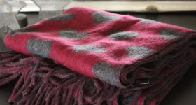 New in: Acne Quebec Heart Scarf