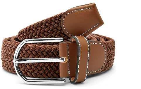 Et elegant brun bælte der ikke er ordinært eller kedeligt. Bredden er 3.5 cm.