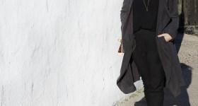 Forårsoutfit – ny lang trenchcoat og solbriller