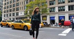 Park Avenue strolling