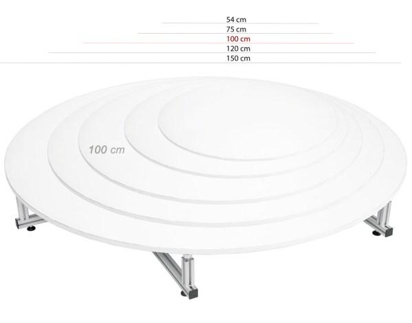 Platforma roatativa 360 de grade rezista greutate mare 100 Kg