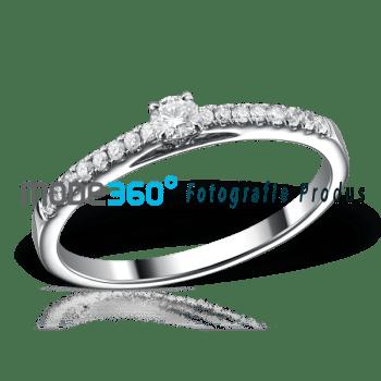 fotografie de produs profesionala bijuterii inele logodna aur diamante