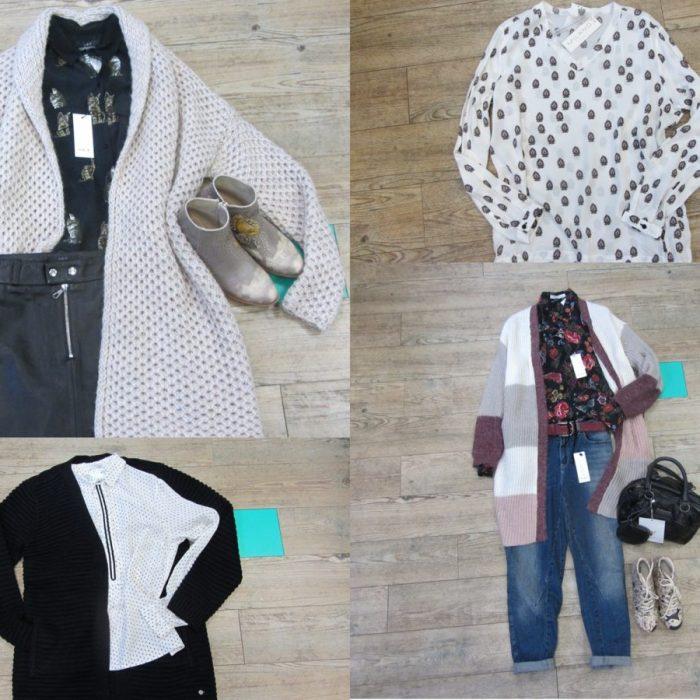Modebotschaft #21 -Bluse + Cardigan = Traumpaar