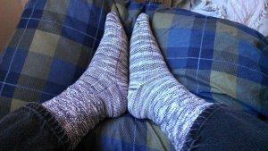 Dan's Jesmond socks