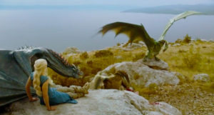 Drogon, Viserion & Rhagal, angst filled teen dragons.
