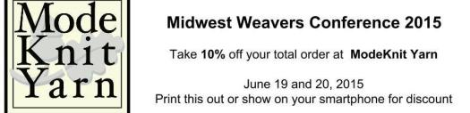 Midwest Weavers Coupon