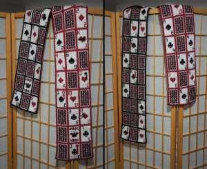 52 Pickup Doubleknit Scarf Pattern by Alisdair Post Quinn