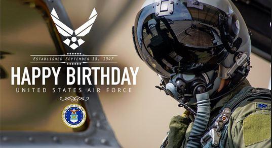 Happy 71st Birthday U S Air Force Model Airplane News