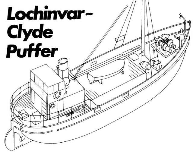 Clyde Puffer - My first scratch build.