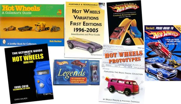 Hot Wheels books