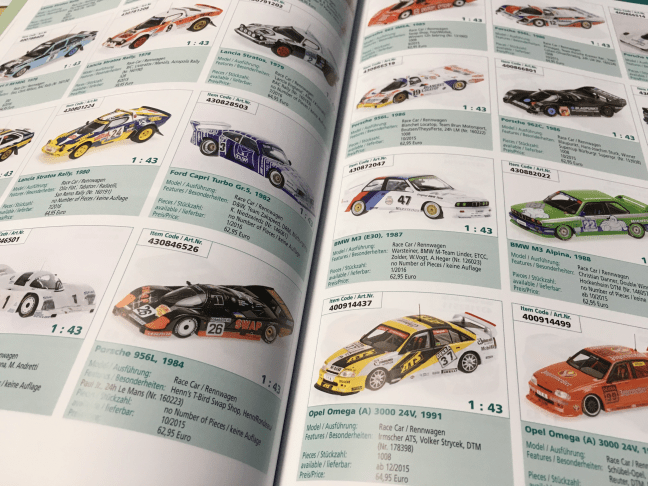 Modelcar Yearbook Page