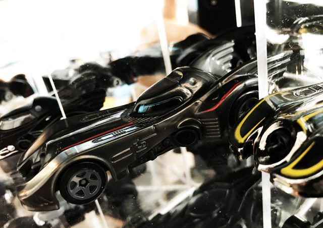 Hot Wheels release of Fireball's own Batmobile design