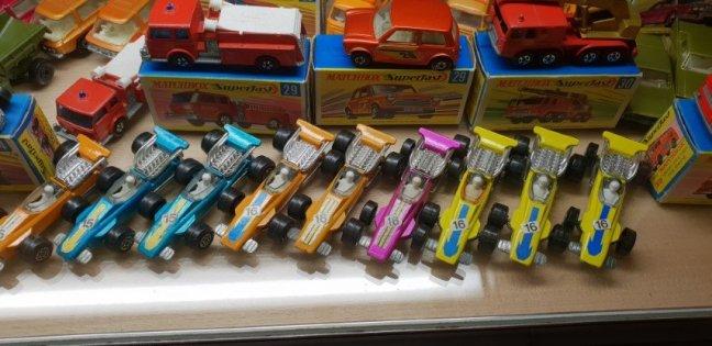 MG 1100 Formula Racing Cars